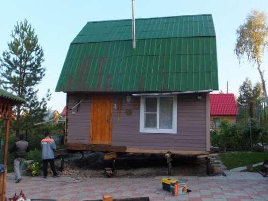 Установим ш дом на винтовые сваи