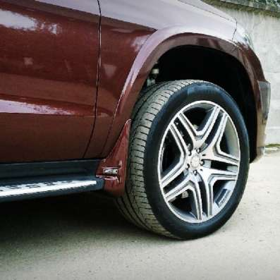 Брызговики для Мерседес GL X166 AMG (передние)