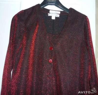 Комплект нарядный платье+жакет новый Германия р.48-50