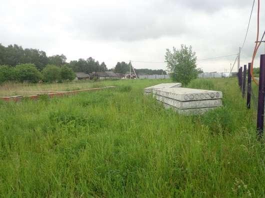 25 соток земли в селе, с фундаментом под дом в г. Михнево Фото 4