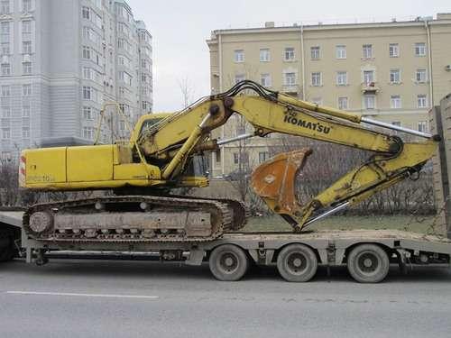 Гусеничный экскаватор KOMATSU 210, 2002 г., 1,1 м3