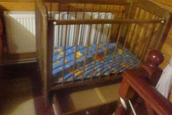 Детская кроватка-маятник в г. Королёв Фото 1