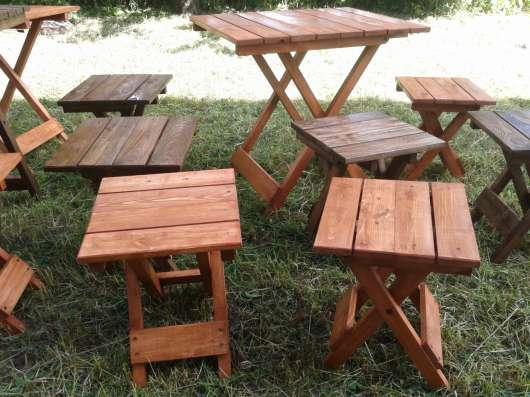 Столы и стулья- трансформеры. Возможно изготовление под зак