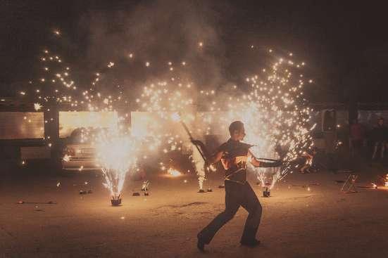 Огненное шоу Барнаул творческая группа АльтШоу фаер шоу Фото 3