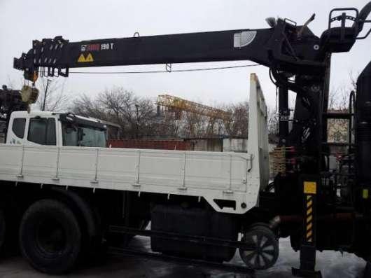HYUNDAI HD250 с манипулятором HIAB 190TM в Москве Фото 2