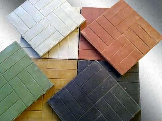 Плитка садовая полимерпесчаная 250*250*25мм в Тюмени Фото 1