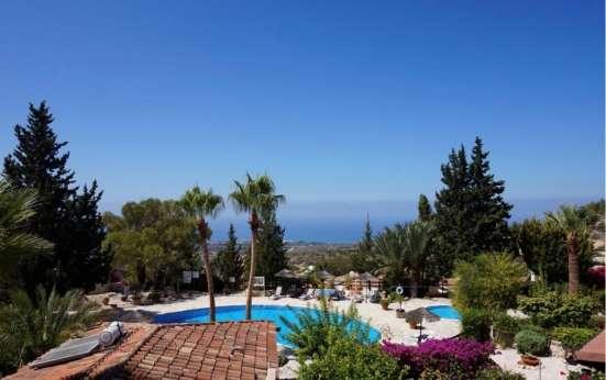 Замечательный 3-спальный Дом с видом на море в Пафосе-Кипра