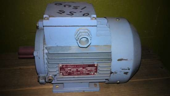 Электродвигатель АИР71А4У3 0.55кВт 1360 об/мин, на лапах
