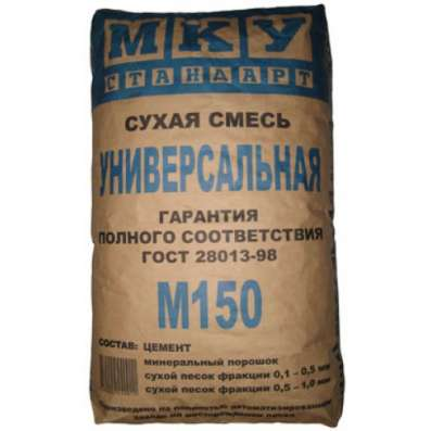 Сухая универсальная смесь МКУ М-150