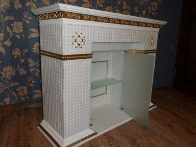 камин декоративный камин из мозаики в Саранске Фото 2