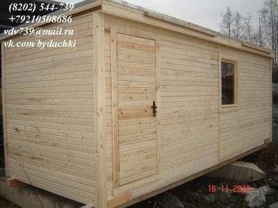 Бытовка (будка, вагончик, блок-контейнер в Череповце Фото 5