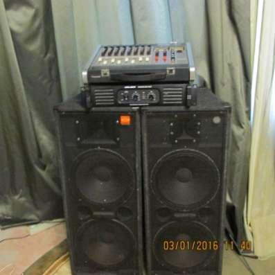 Продам комплект звуковой аппаратуры 400/ в Кемерове Фото 3
