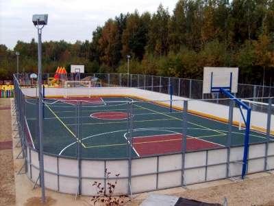 Хоккейная коробка производство и монтаж в г. Петропавловск-Камчатский Фото 3