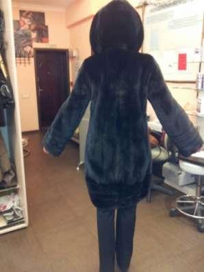 Норковая шуба Black velvet новая