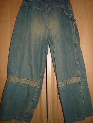 Бриджи джинсовые Fadeout с эффектом потертости