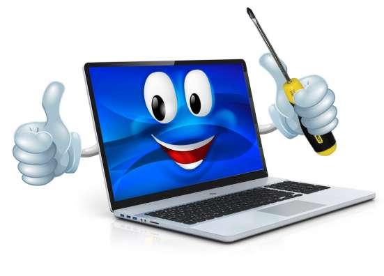 Настрою и отремонтирую ноутбук