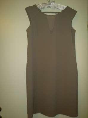 Платье ZARINA, 48 размер, силуэт свободный, вискоза