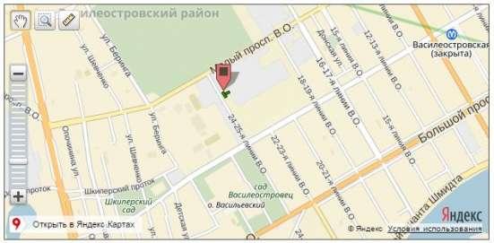 Однокомнатная квартира нв Васильевском острове от Nord Est