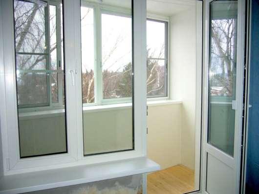 Окна ПВХ, отделка балконов и лоджий