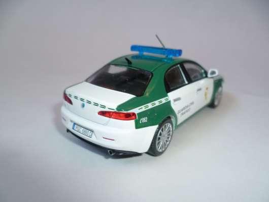 полицейские машины мира №43 ALFA ROMEO 159 в Липецке Фото 3