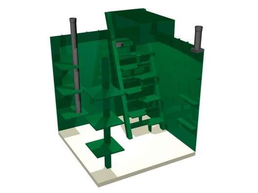 Погреб-модуль из пластика