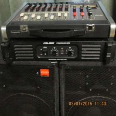 Продам комплект звуковой аппаратуры 400/ в Кемерове Фото 2