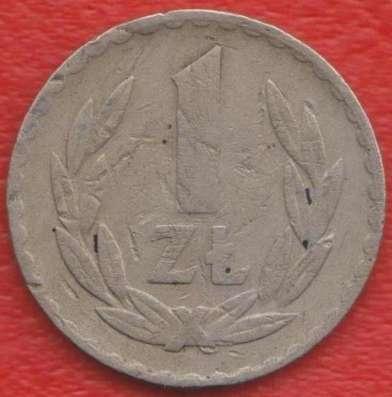 Польша 1 злотый 1949 г. никель
