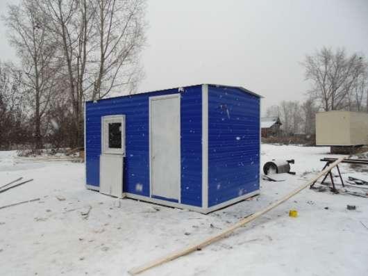 Изготовление и продажа вагончиков строительных, дачных домиков.
