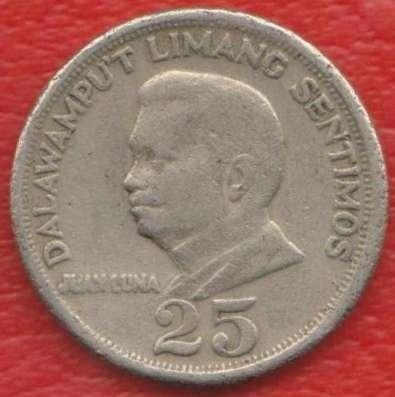 Филиппины 25 сентимо 1972 г.