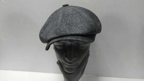 Гаврош восьми клинка кепка мужская (серая) в Москве Фото 2