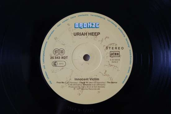 URIAH HEEP-1977 Made In W. Germany в Москве Фото 2