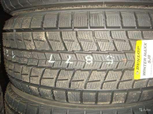 Новые японские Dunlop 265/50 R20 Winter Maxx SJ8 в Москве Фото 2