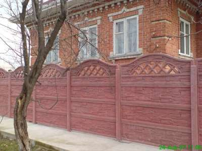 "Железобетонный забор ООО фирма ""Клен&quot"