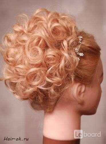 Свадебные прически на средние жидкие волосы